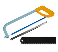 Полотна по металлу, пилы сегментные, ножовки, лобзики